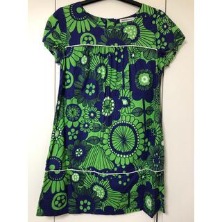 マリメッコ(marimekko)のマリメッコ ワンピース ドレス 34 marimekko(ミニワンピース)