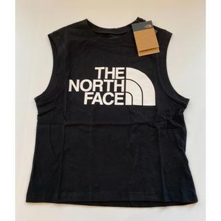 THE NORTH FACE - 【Mサイズ】新品タグ付き ノースフェイス ロゴ タンクトップ ブラック