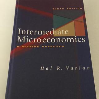 Intermediate Microeconomics(ビジネス/経済)