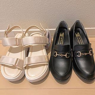 シマムラ(しまむら)の【最終価格】プチプラのあや♡靴セット(サンダル)