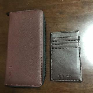 シップス(SHIPS)のMINO様専用 SHIPS 財布&パスケース(長財布)