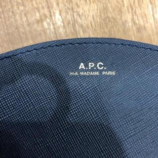 アーペーセー(A.P.C)のAPC ハーフムーン財布(財布)