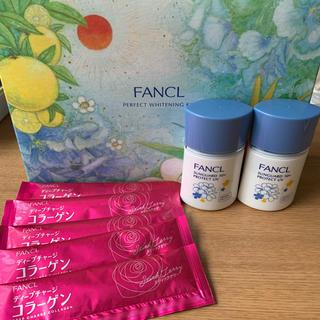 ファンケル(FANCL)の【ファンケル】サンガード50+c ❷本セット&コラーゲンゼリー(日焼け止め/サンオイル)