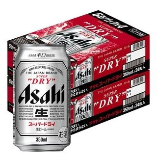 アサヒ(アサヒ)の【送料無料!】アサヒスーパードライ350ml×24缶 2ケース(ビール)