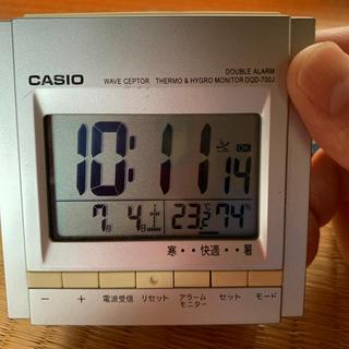 カシオ(CASIO)のカシオ 置き時計(置時計)