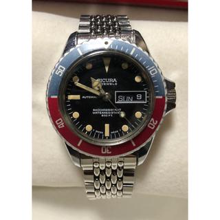 ロレックス(ROLEX)のSICURA シクラ GMTマスタータイプ メンズ腕時計(腕時計(アナログ))