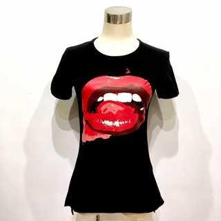 ヴィヴィアンウエストウッド(Vivienne Westwood)の美品 ヴィヴィアンウエストウッド 回顧展 限定 ワールドツアー リップ Tシャツ(Tシャツ(半袖/袖なし))