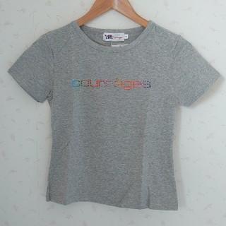 クレージュ(Courreges)のタグ付き新品未使用!クレージュ グレー Tシャツ 160cm(Tシャツ/カットソー)