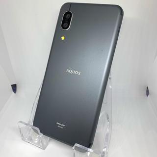 シャープ(SHARP)の【SIMフリー】AQUOS sense3 SHV45 ブラック(スマートフォン本体)