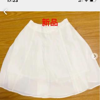 ダズリン(dazzlin)のダズリン☆新品☆レディーススカート 白M(ミニスカート)