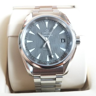 オメガ(OMEGA)のOMEGA  オメガ シーマスター アクアテラ クオーツ(腕時計(アナログ))