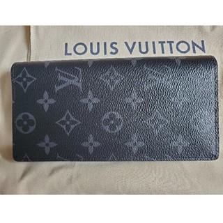 ルイヴィトン(LOUIS VUITTON)の新品同様 ルイ ヴィトン ブラザ エクリプス M61697(長財布)