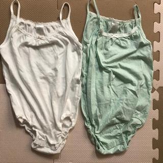 エイチアンドエム(H&M)のH&M 女の子用 肌着 ロンパース98 2枚組(下着)