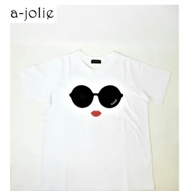 Alice+Olivia(アリスアンドオリビア)のa-jolie   アジョリー Tシャツ レディースのトップス(Tシャツ(半袖/袖なし))の商品写真