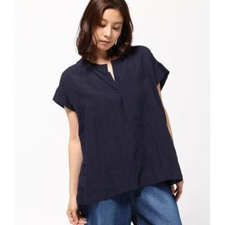 フレームワーク(FRAMeWORK)のフレームワーク スキッパーシャツ ブラウス ネイビー (シャツ/ブラウス(半袖/袖なし))