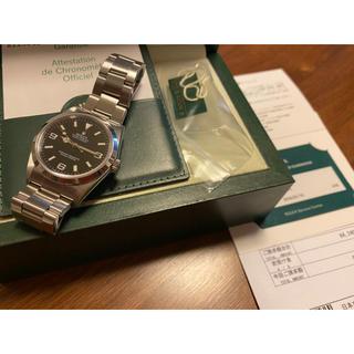 ロレックス(ROLEX)のロレックス 114270 美品 エクスプローラー1(腕時計(アナログ))