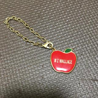 エムジーウォレス(MZ WALLACE)のM Z WALLACE キーホルダー リンゴ(キーホルダー)
