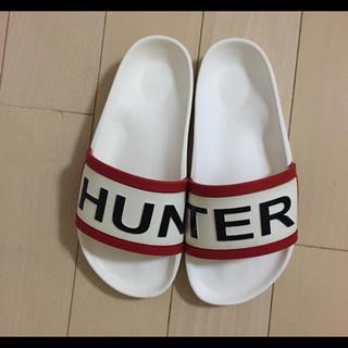 ハンター(HUNTER)の新品ハンターサンダル24センチ(サンダル)