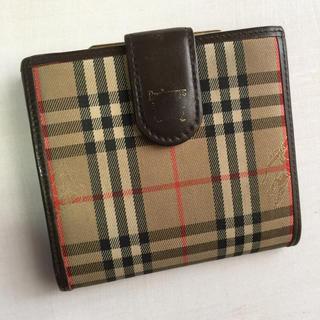 バーバリー(BURBERRY)のBurberry 二つ折り財布  がま口財布(財布)