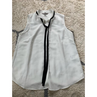 H&M - 【今期新作】H&M ノースリーブシャツ 36