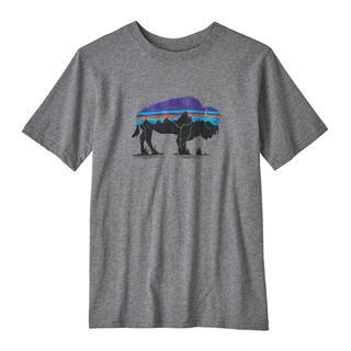 パタゴニア(patagonia)のPatagonia パタゴニア ボーイズTシャツ Mサイズ 新品タグ付き送料込(Tシャツ/カットソー)