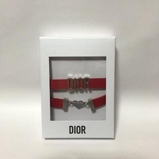 Dior - 未使用 ディオール ブレスレット兼チョーカー ハート Diorロゴ