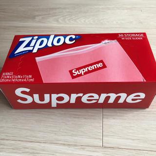 シュプリーム(Supreme)のsupreme ziploc シュプリーム ジップロック 1箱 (収納/キッチン雑貨)