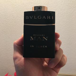 ブルガリ(BVLGARI)のブルガリ マンインブラック60ml(香水(男性用))
