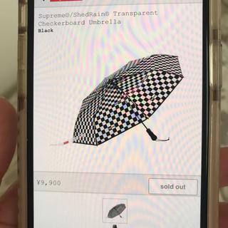 シュプリーム(Supreme)のSupreme Transparent umbrella 傘(傘)