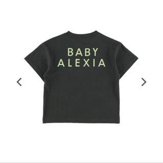ALEXIA STAM -  BABY ALEXIA Circle Logo Print Tee Sサイズ