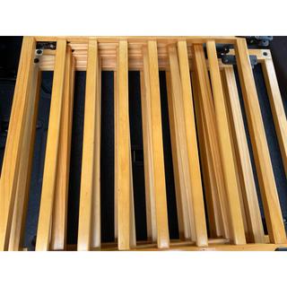ニホンイクジ(日本育児)のおくだけとおせんぼ木製スマートワイドウッディ(ベビーフェンス/ゲート)