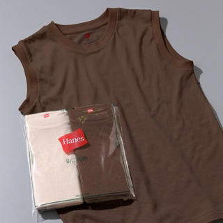 アダムエロぺ(Adam et Rope')の【Hanes for BIOTOP】Sleeveless T-Shirts(タンクトップ)