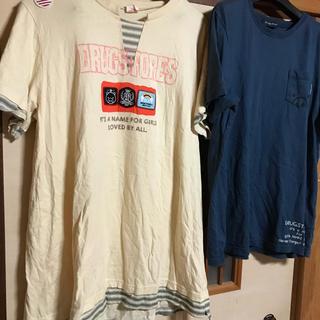 drug store's - ドラッグストアーズ 大きいサイズTシャツFセット
