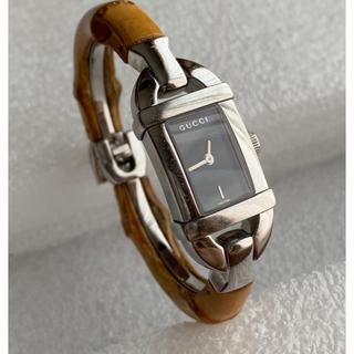 グッチ(Gucci)のGUCCI バンブークォーツ 6800L【 USED 】(腕時計)