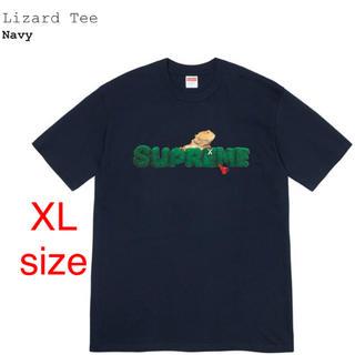 シュプリーム(Supreme)のSupreme Lizard Tee XLsize(Tシャツ/カットソー(半袖/袖なし))