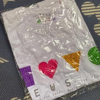 ニュース(NEWS)のNEWS 10周年 ツアーTシャツ(アイドルグッズ)