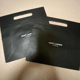 サンローラン(Saint Laurent)のサンローラン  ショッパー セット 紙袋(ショップ袋)