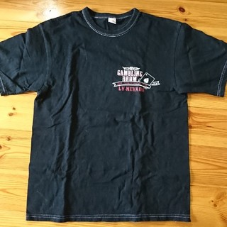 フラットヘッド(THE FLAT HEAD)のメンズTシャツ(黒)(Tシャツ/カットソー(七分/長袖))