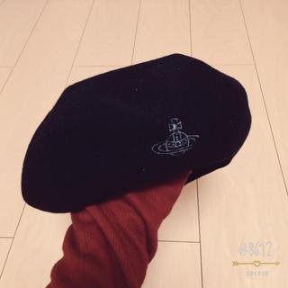 ヴィヴィアンウエストウッド(Vivienne Westwood)の✩ vivienne ベレー帽(ニット帽/ビーニー)