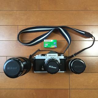 ニコン(Nikon)のニコマート FTn & レンズ3本(フィルムカメラ)