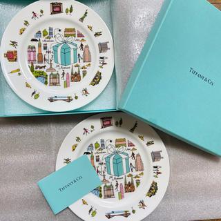 Tiffany & Co. - ティファニー 5thアベニューデザインプレート(2枚入り)