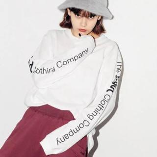 X-girl - 袖ロゴ 長袖Tシャツ