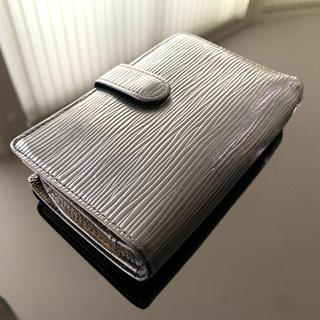 ルイヴィトン(LOUIS VUITTON)のルイ ヴィトン エピ がま口財布 ウォレットケース 黒(折り財布)