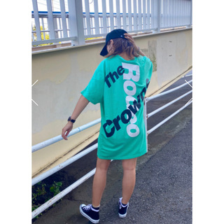 RODEO CROWNS WIDE BOWL - ロデオ★2C logo Big Tシャツ【MINT】