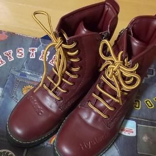 ヒステリックミニ(HYSTERIC MINI)のブーツ Lサイズ(ブーツ)