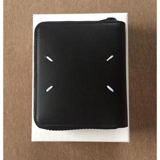 Maison Martin Margiela - 19AW新品 メゾン マルジェラ メンズ ジップ 折り財布 黒  オールブラック