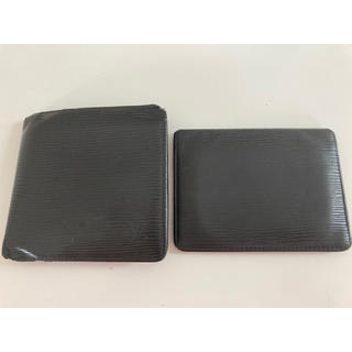 ルイヴィトン(LOUIS VUITTON)のルイヴィトン エピ 二つ折り財布 定期入れ セット(折り財布)