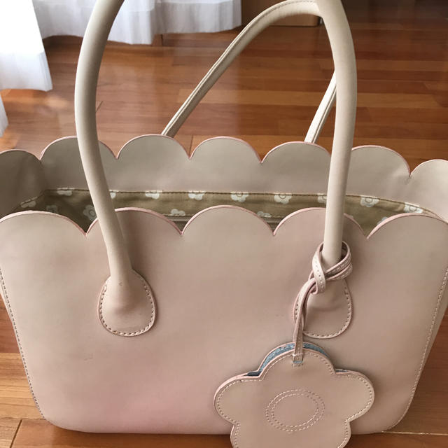 MARY QUANT(マリークワント)の☆マリークワント☆トートバッグ☆汚れアリ☆ レディースのバッグ(トートバッグ)の商品写真