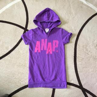 アナップキッズ(ANAP Kids)のANAP  子供服  女の子(Tシャツ/カットソー)