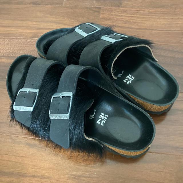 BIRKENSTOCK(ビルケンシュトック)のビルケンシュトック黒サンダル37 レディースの靴/シューズ(サンダル)の商品写真
